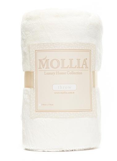 Mollia Soft Touch Diz Üstü Battaniye Krem